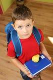 Bereiten Sie für Schule vor Stockbild