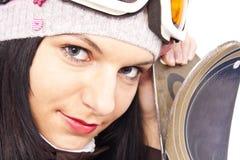 Bereiten Sie für Skifahren vor Lizenzfreie Stockfotos
