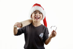 Bereiten Sie für Weihnachtsdas kochen vor Stockbild