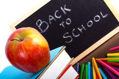 Bereiten Sie für zurück zu Schule vor Stockbilder