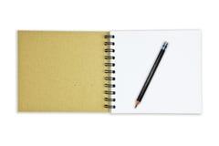 Bereiten Sie Papiernotizbuch auf Lizenzfreie Stockbilder