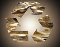 Bereiten Sie unterzeichnen herein abstrakte Bronze auf Vignettenhintergrund auf Lizenzfreie Stockfotos