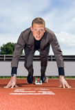 Bereiten Sie vor, um eine Karriere aufzubauen Lizenzfreies Stockfoto