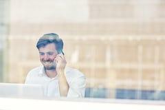 Bereiten Sie vor, um eine Unternehmensbeziehung herzustellen lizenzfreie stockfotos