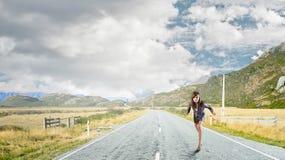 Bereiten Sie vor, um zu laufen Stockfoto