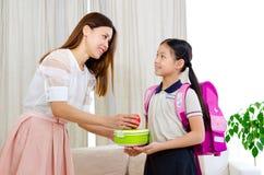 Bereiten Sie zur Schule vor Stockbild