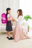 Bereiten Sie zur Schule vor Lizenzfreies Stockfoto