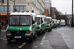 Bereitschaftspolizei Lizenzfreie Stockfotos