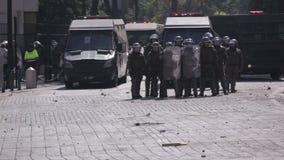 Bereitschaftspolizei, Chile stock footage