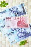 Bereken geld stock afbeelding