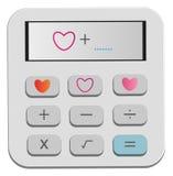 Bereken hulpmiddelen voor uw hart Royalty-vrije Stock Foto