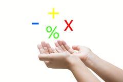 berekening Stock Afbeelding