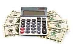 Berekening van de financiële groei royalty-vrije stock fotografie