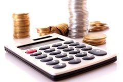 Berekening van financiën stock afbeeldingen