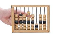 Berekening voor houten rekeningen royalty-vrije stock afbeeldingen