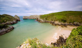 Berellin beach (Cantabria,Spain) Royalty Free Stock Photography
