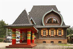 Berendey House in Pereslavl-Zalessky. Yaroslavl Oblast. Russia Royalty Free Stock Image