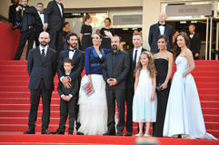Berenice Bejo & Aghar Farhadi Stock Photo