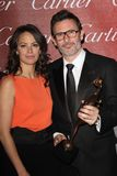 Berenice Bejo, Michel Hazanavicius Photos stock