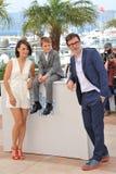 Berenice Bejo & Michel Hazanavicius & Abdul-Khalim Mamatsuiev Royalty Free Stock Image