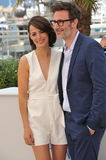 Berenice Bejo & Michel Hazanavicius Stock Photo
