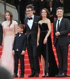 Berenice Bejo & Michel Hazanavicius Stock Images