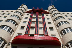 Beresford Building. The Beresford Building, an art deco construction formerly known as the Baird Hall, in Sauchiehall Street, Glasgow, Scotland, UK, Europe Stock Photography