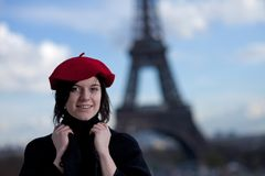 Free Beret Royalty Free Stock Photo - 17490285