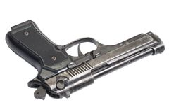 Beretta hand gun Stock Images