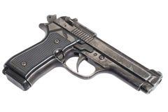 Beretta hand gun Stock Image