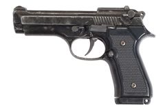 Beretta hand gun Royalty Free Stock Images