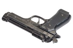 Beretta ręki pistolet obraz royalty free