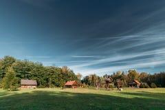 Berezinsky, riserva di biosfera, Bielorussia Bielorusso tradizionale T fotografia stock libera da diritti
