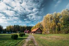 Berezinsky, riserva di biosfera, Bielorussia Bielorusso tradizionale T fotografia stock