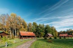 Berezinsky, riserva di biosfera, Bielorussia Bielorusso tradizionale T immagini stock