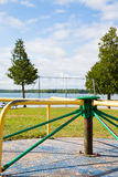 Berford Lake playground vertical Royalty Free Stock Photo