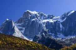 Bergöverkant Royaltyfri Bild