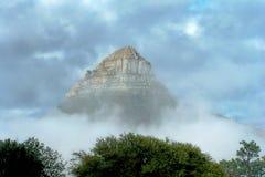 Berg über Kapstadt Lizenzfreie Stockfotografie