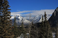 Berg übersehen Lizenzfreies Stockfoto