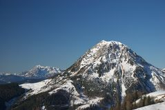Berg 10 van Dachstein Royalty-vrije Stock Foto