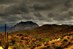 Berg 105 van de woestijn stock afbeelding
