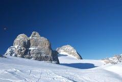 Berg 11 van Dachstein Stock Afbeelding