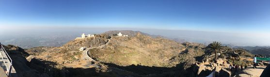 Berg-Abu Best-Panorama Klicken Stockbild