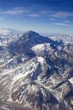 Berg Aconcagua in Argentinien u. in x28; höchste Auswahl in Amerika-continent& x29; Stockbild