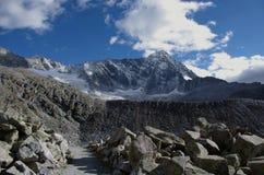 Berg Adamello Stockfotografie