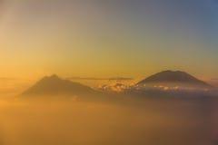 Berg Agung in Bali Indonesien Stockfotos