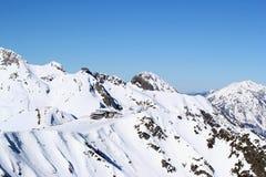 Berg Aibga, Rusland Stock Afbeelding