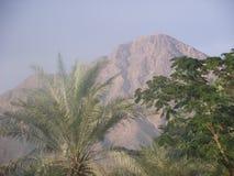 Berg Al Fujairah, UAE, Mellanösten Royaltyfri Foto