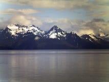 Berg in Alaska Lizenzfreie Stockfotos