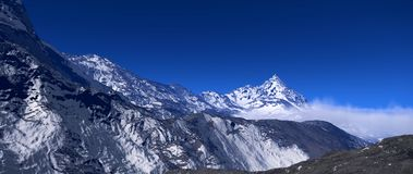 Berg alaska Royaltyfria Foton